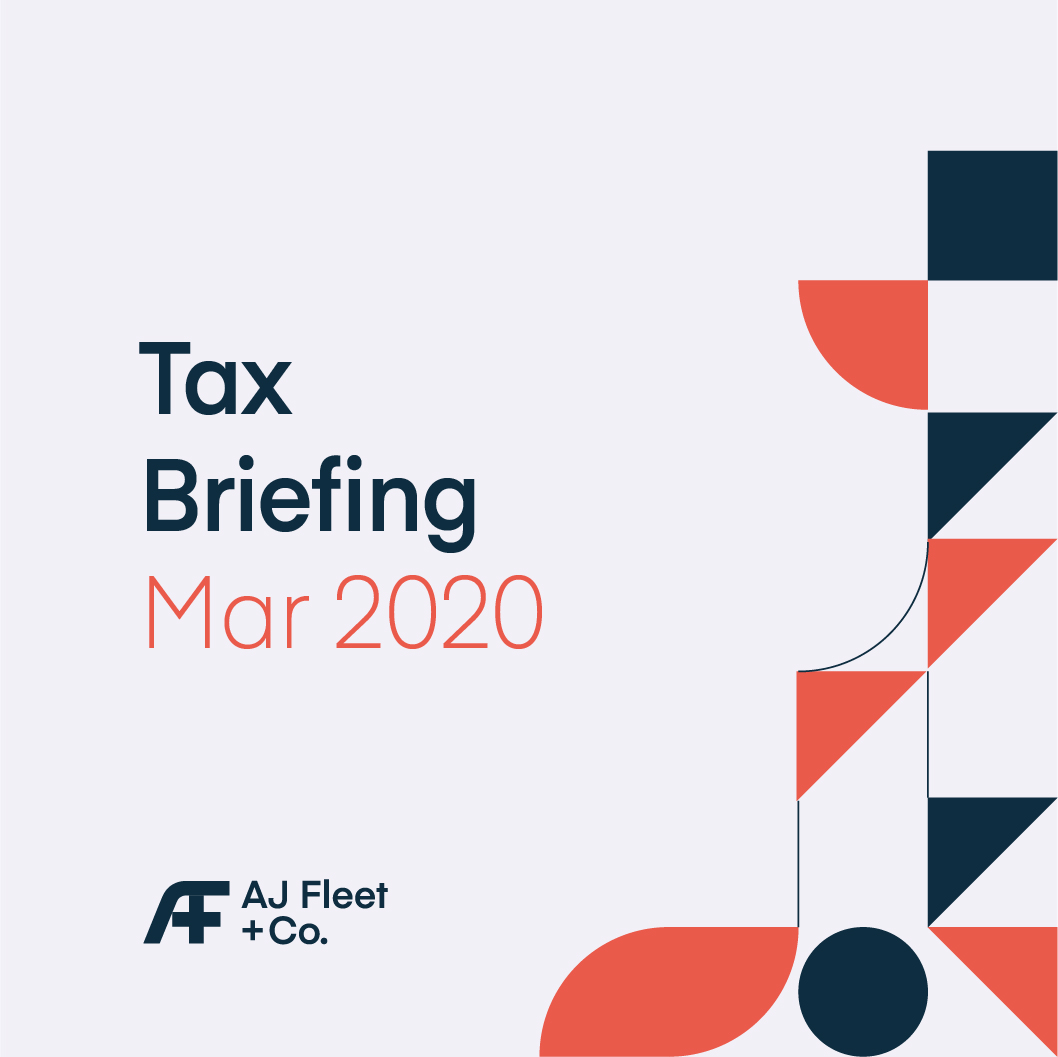 Tax Briefing March 2020